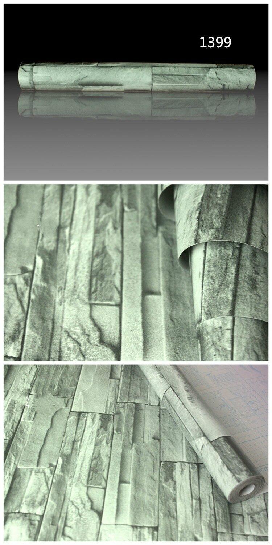 Exceptional PVC Vinyl Moderne Faux Ziegel Stein 3D Tapete Wohnzimmer Schlafzimmer  Badezimmer Home Wandaufkleber Dekoration, 0,45 Mt * 5 Mt/rolle Mit Kleber  In PVC Vinyl ... Photo