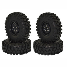 "1.9"" 108mm Tires and Wheels for 1:10 Rc Crawler  Car Axial SCX10 D90"