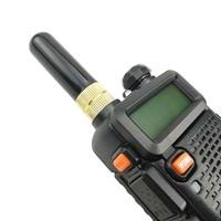 """עבור baofeng Baofeng UV-5R מכשיר הקשר שבח אנטנה Dual Band 5 ס""""מ Portable אנטנה רדיו קצר SMA-F עבור Baofeng UV 5R BF-888s UV-82 Telsiz (4)"""
