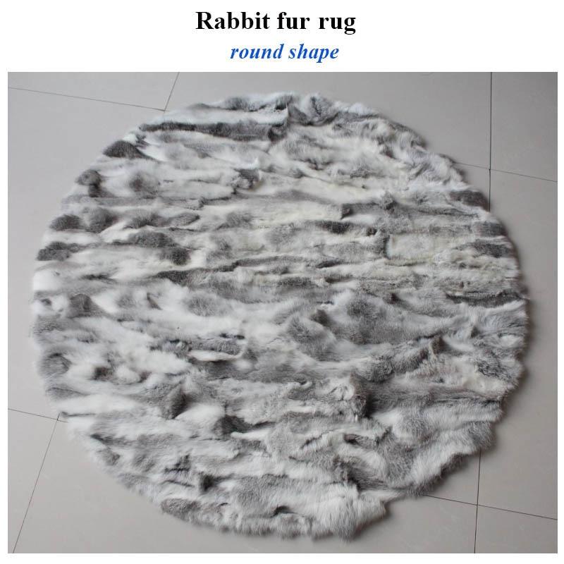 rabbit fur carpet 1
