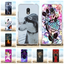 For Meizu M6 Case Ultra-slim Soft TPU Silicone For Meizu M6 Meiblue 6 Cover Beach Patterned For Meizu M6 Meilan 6 Shell Capa vernee m6 4g phablet