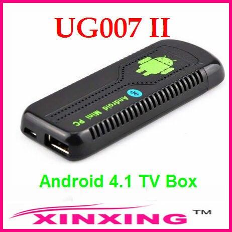 [Factory In Stock] UG007 II Latest Android 4.1.1 OS RK3066 Dual Core Smart TV Box Mini PC w/ 1GB/8GB Built-in Bluetooth MINIX