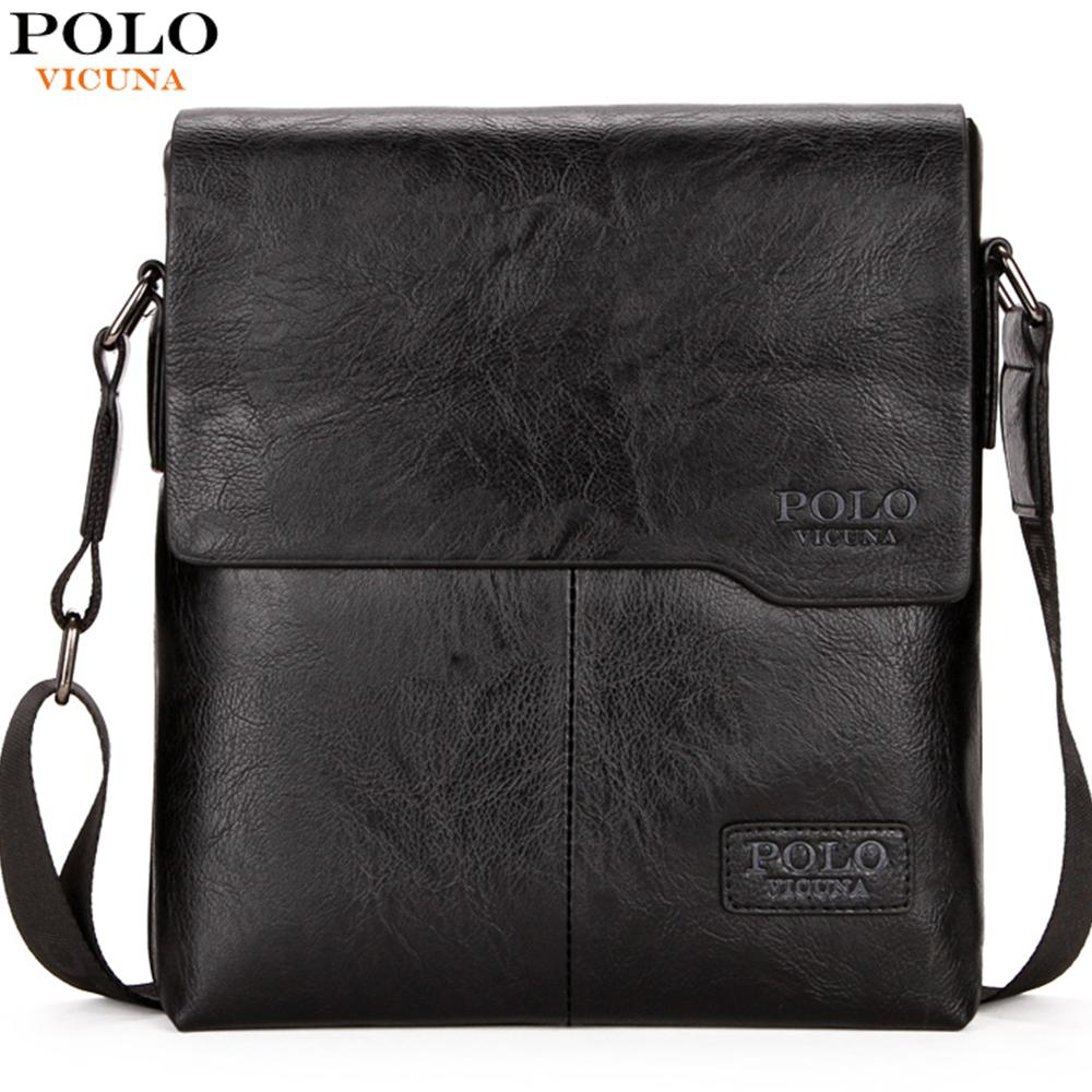 Men Bag Messenger-Bags Crossbody-Bag Vicuna Polo Classic Promotion Vintage-Style Male