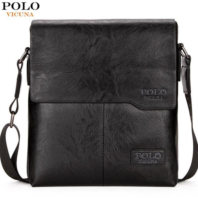 VICUNA POLO Men Shoulder Bag Classic Brand Men Bag Vintage Style Casual Men Messenger Bags Promotion Crossbody Bag Male Hot Sell
