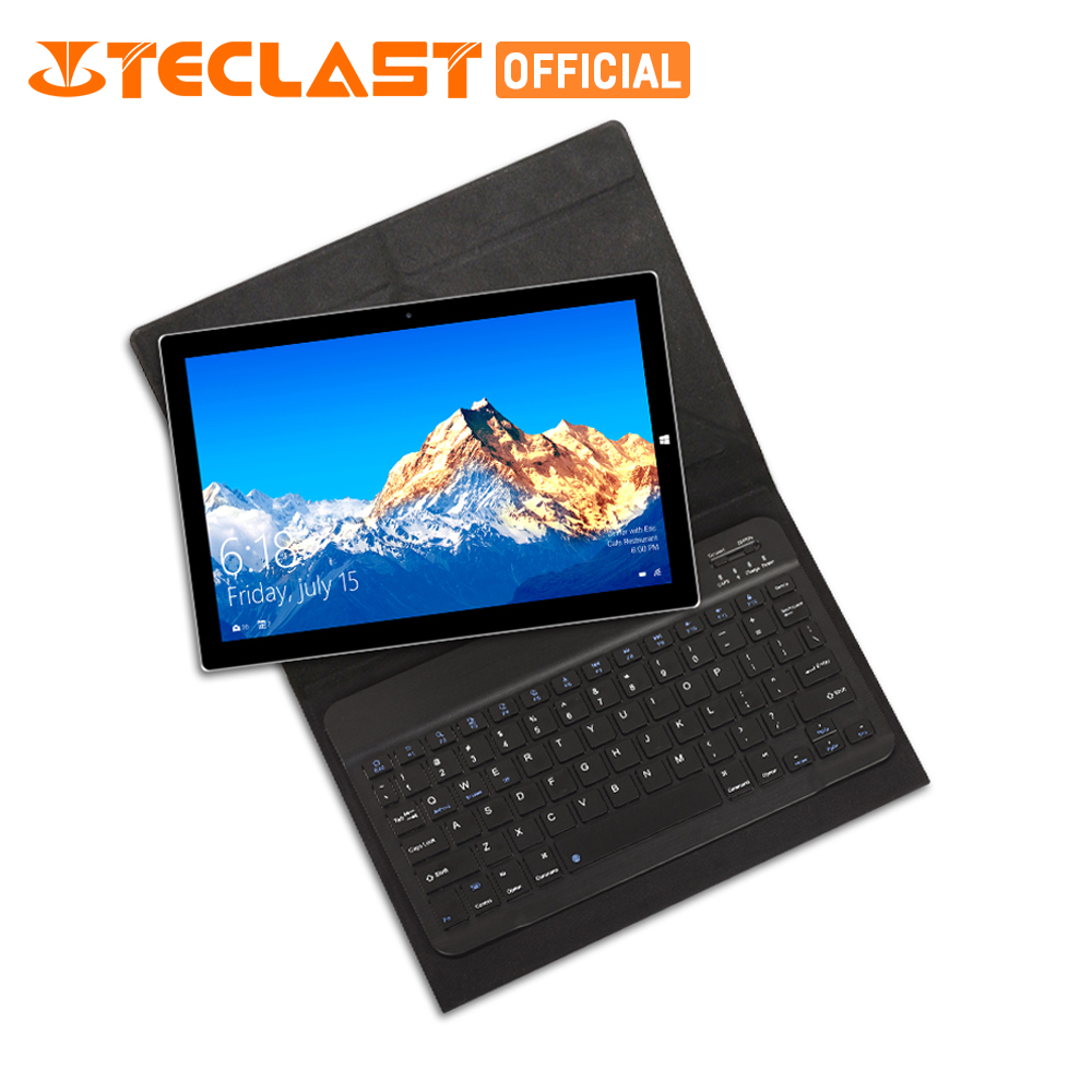 Teclast Tbook 10 s 2 in 1 Tablet PC Finestre 10 + Android 5.1 IPS Intel Cherry Trail Z8350 Quad core 4g di RAM 64g ROM 10.1 pollice