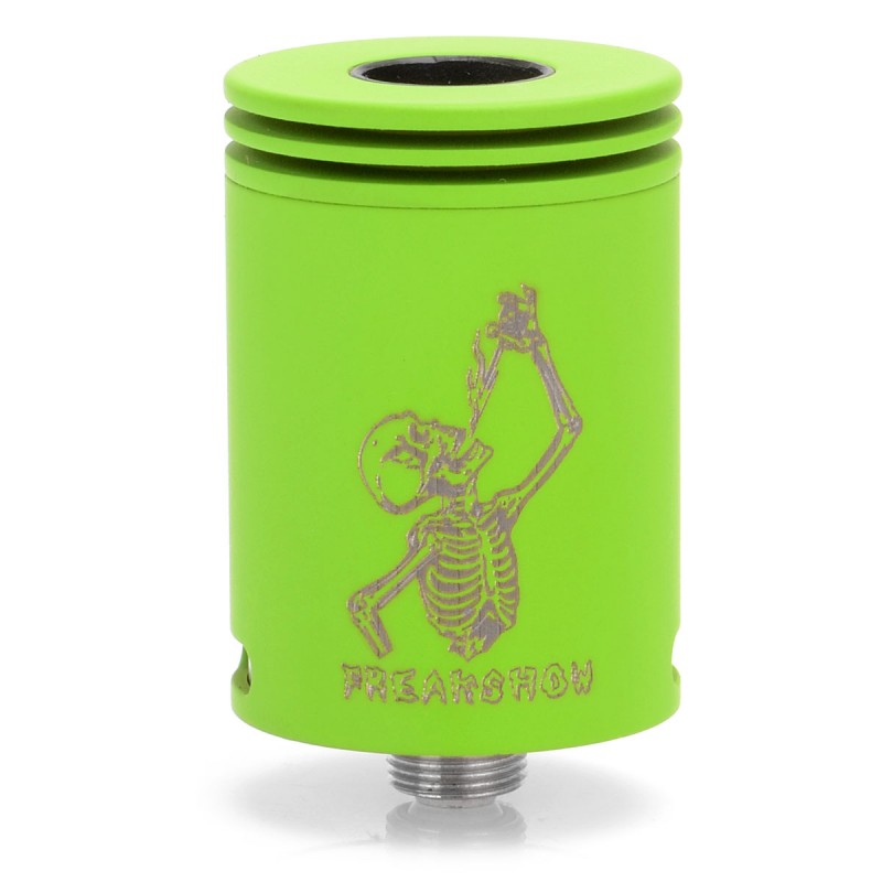 Original Wotofo Freakshow RDA 22mm Rebuildable Dripping Atomizer Bottom Airflow for Mechanical Mod / VW Vape Box Mod цена