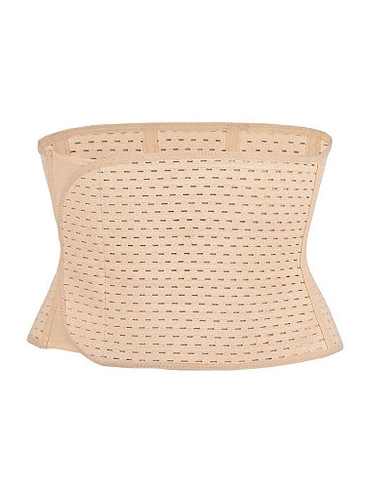 2019 Waist Cincher Burning Body Shaper Women Slimming Waist Trainer Hook Loop Breathable Slimming Adjustable Corset Underbust in Waist Cinchers from Underwear Sleepwears