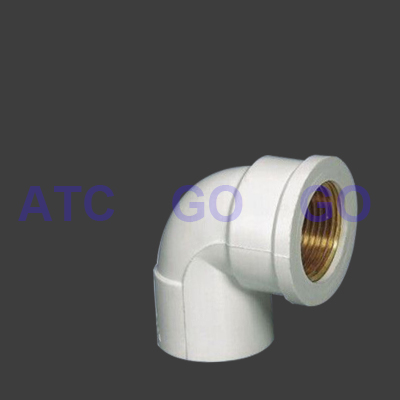 High Quality Pvc Angle Valve Pipe Fitting Plastic Elbow
