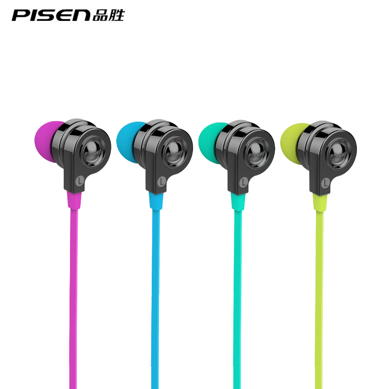 PISEN G106 Wired Stereo Earphone 3 5mm Hifi Earphone For Samgsung Andorid phones with Mic Noise