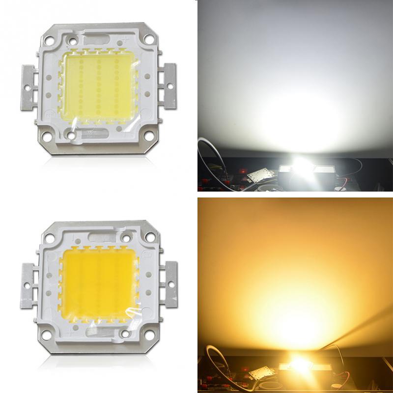 High Power LED SMD COB Bulb Chip 10W 20W 30W 40W 50W White Warm White Light