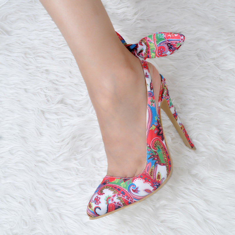 2018 Bowknot Sur La Piste En Mariée Gladiateur Fleur As Taille Party Dame De Mouton Femme Frissons Summer Pic Talon Clouté Sandale Chaussures Peau KT1clFJ