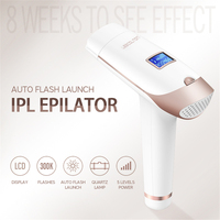 IPL Permanent Epilator Painless Laser Hair Remover 300000 times Home Pulse light Hair Removal Device Facial Armpit Limbs Bikini