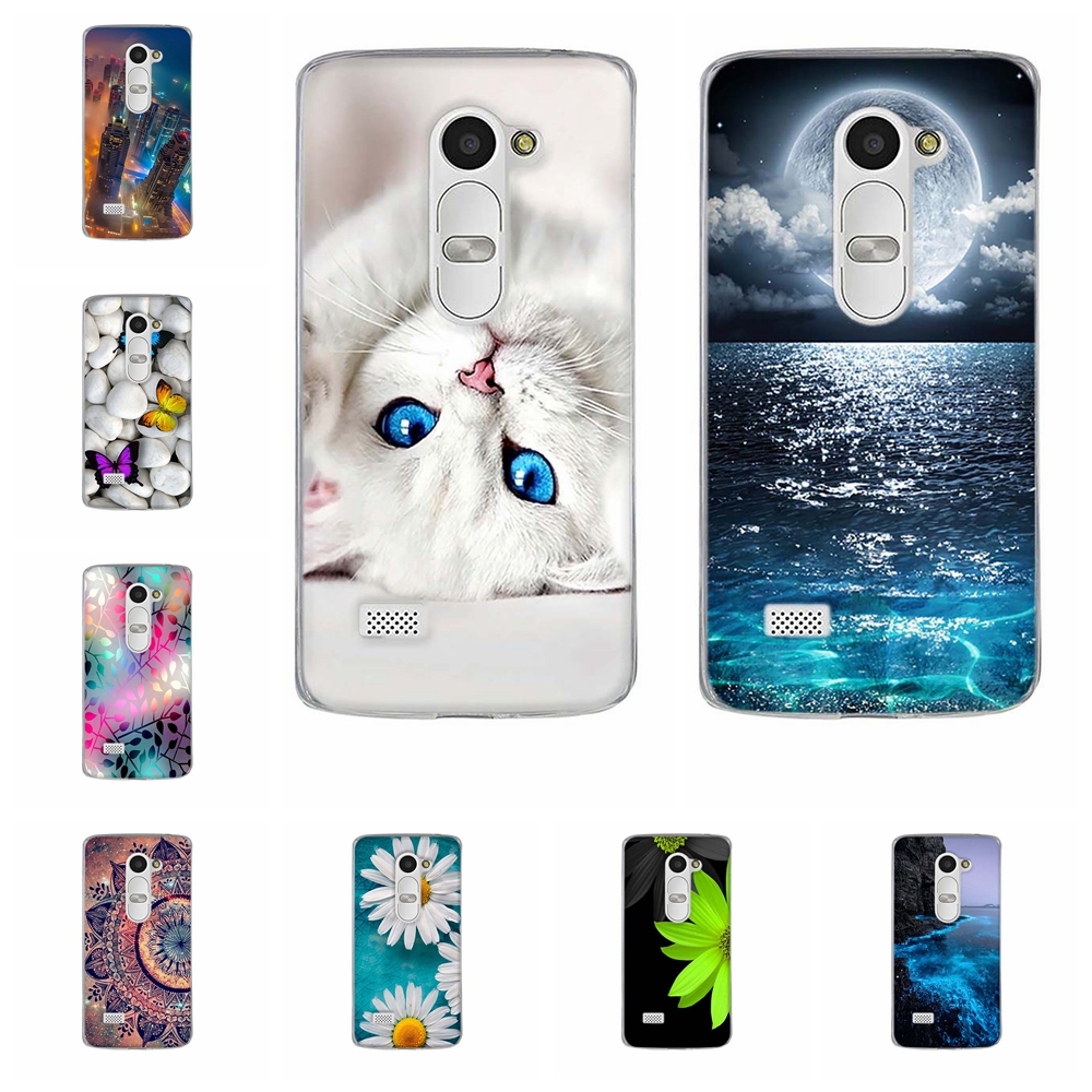 For Fundas <font><b>LG</b></font> <font><b>Leon</b></font> <font><b>Case</b></font> Luxury 3D Cute Capa Silicone TPU Back Cover For Coque <font><b>LG</b></font> <font><b>Leon</b></font> <font><b>4G</b></font> <font><b>LTE</b></font> C40 C50 H324 H340N H320 Phone <font><b>Cases</b></font> image