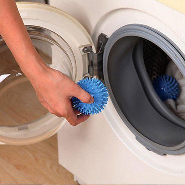 Lavaggio di plastica Più Veloce Dryer Balls Nessun Prodotto Chimico Lavanderia A
