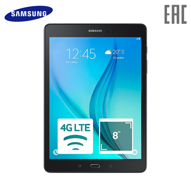 Планшет Samsung Galaxy Tab A SM-T355 8 Дюймов 16 ГБ LTE