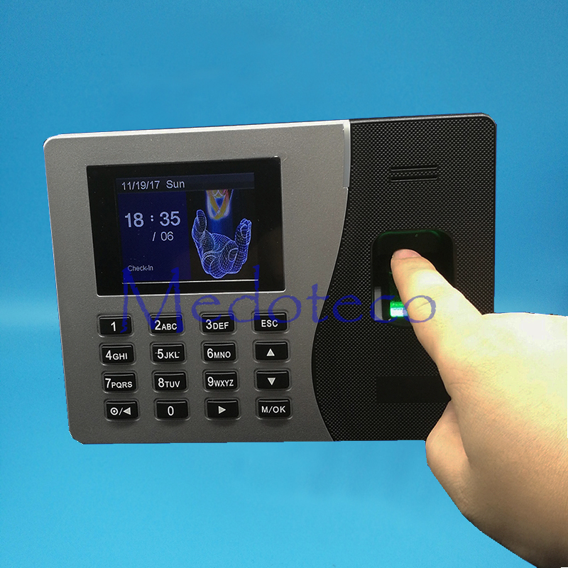 SSR Fingerprint Time Attendance With TCP/IP Fingerprint Time Recoder Back Up Battery Rfid Card Time Attendance Machine