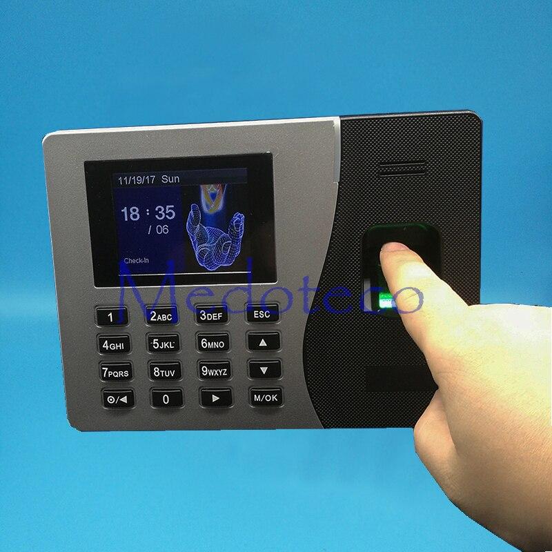 SSR Fingerprint Time Attendance With TCP/IP Fingerprint Time Recoder Back Up Battery Rfid Card Time Attendance Machine