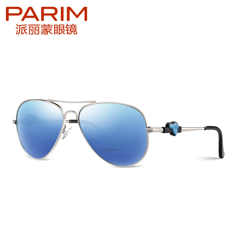 PARIM Aviator Boys Children Eyewear Polarized Mirror Kids Sunglasses Fashion Outdoor Glasses parzin brand quality children sunglasses girls round real hd polarized sunglasses boys glasses anti uv400 summer eyewear d2005