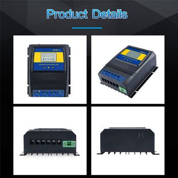 Automatic ATS Dual Power Transfer Switch Solar Charge Controller for Solar wind System DC 12V 24V 48V AC 110V 220V on/off grid 2