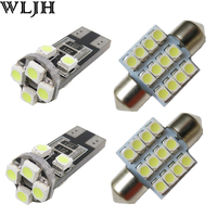 Led Festoon 31mm DE3175 T10 W5W Light For Map Dome Licence Plate Light Package Kit For