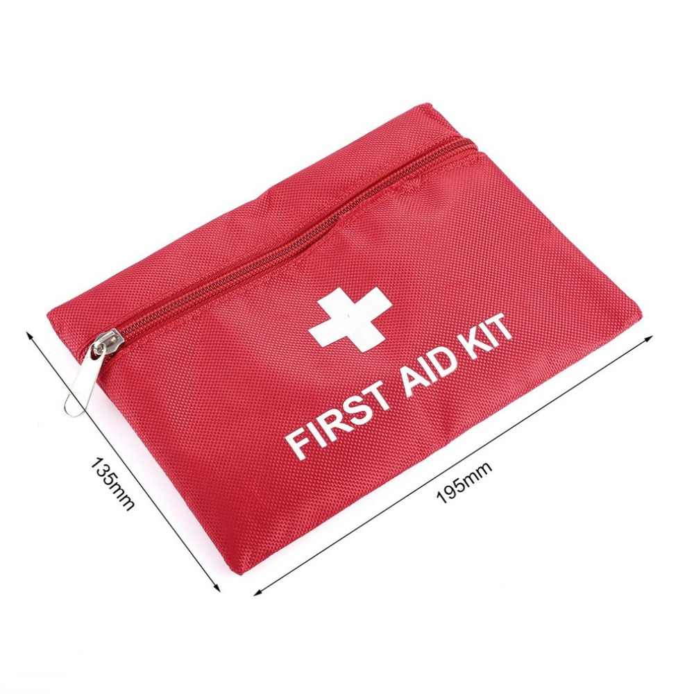 1.4L Emergency First Aid Kit Pouch Bag Travel Sport Rescue Medical Treatment Outdoor Hunting Camping First Aid Kit Hot