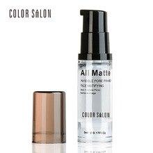 ФОТО color salon base pore primer makeup liquid smooth fine lines oil-control brighten nake foundation easy-wear facial makeup cream