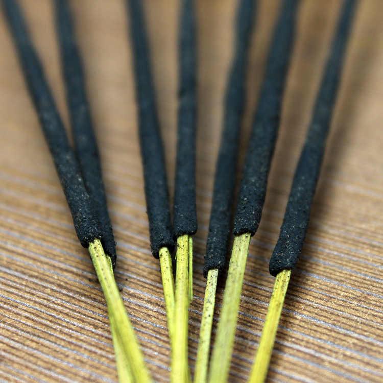 Incienso tibetano 25 olores India Aroma Stick incienso auténtico Natural hogar interior armario limpio aire Sticks 7 unids/caja