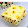 4size 1pcs Yellow duck baby bed sheet size 100% cotton terry cloth Original brand with free shipping