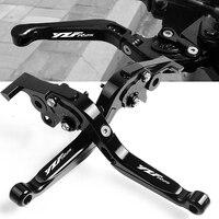 For YAMAHA 2014 2015 2016 2017 2018 2019 YZF R25 YZFR25 YZF R25 Motorcycle Accessories Folding handbrake Brake Clutch Levers