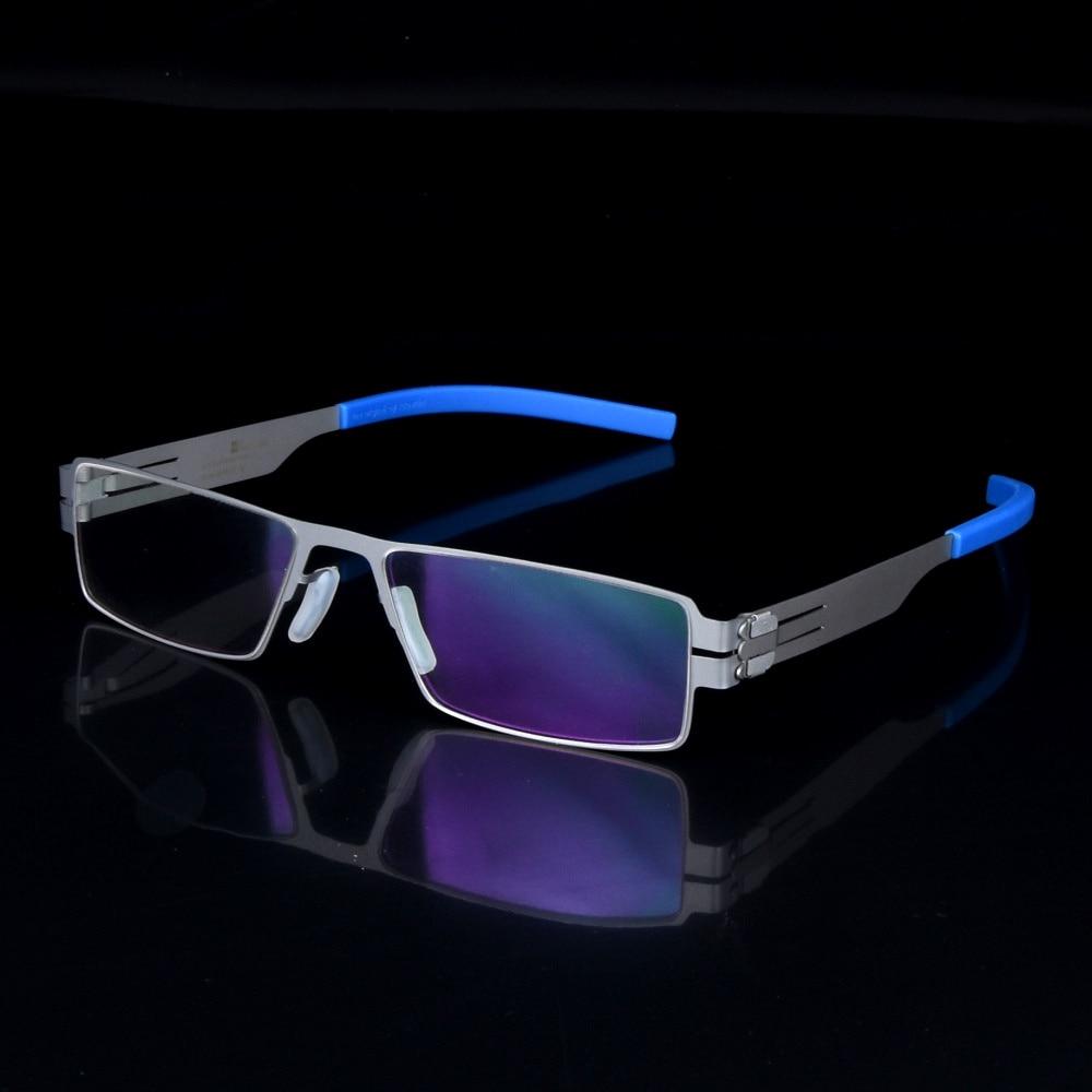 Ультратонкі та легкі окуляри для рамок для окулярів для короткозорості для чоловіків Німеччини марки Oculos De Grau з оригінальним корпусом