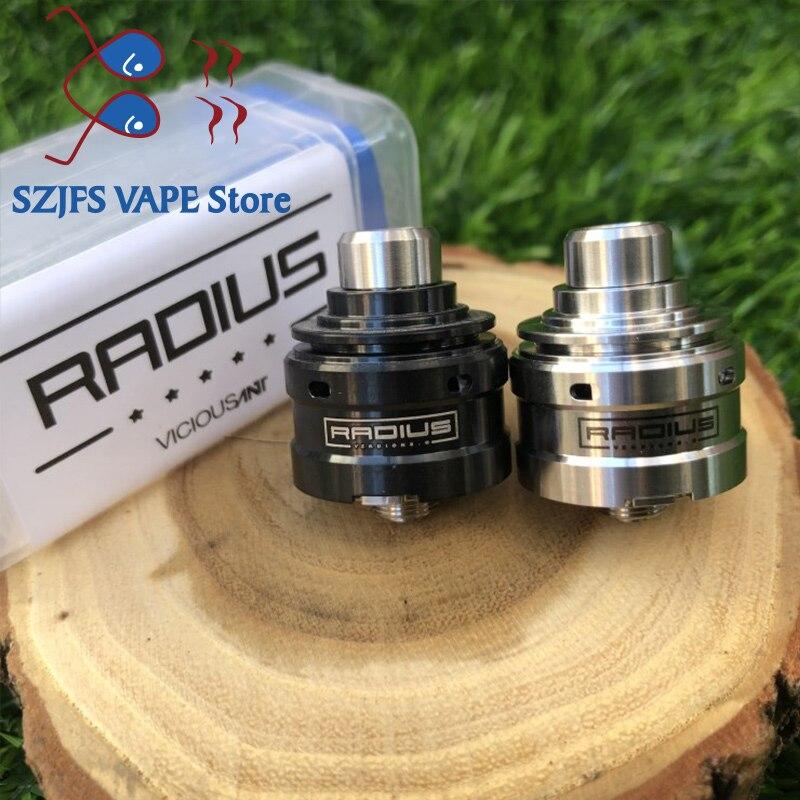 Vicious Ant Radius V2 Rda Vicious A Phenom 18350 Mech Mod Atomizer Tank Rebuildable Drops Atomizer Adjustable Vape RTA
