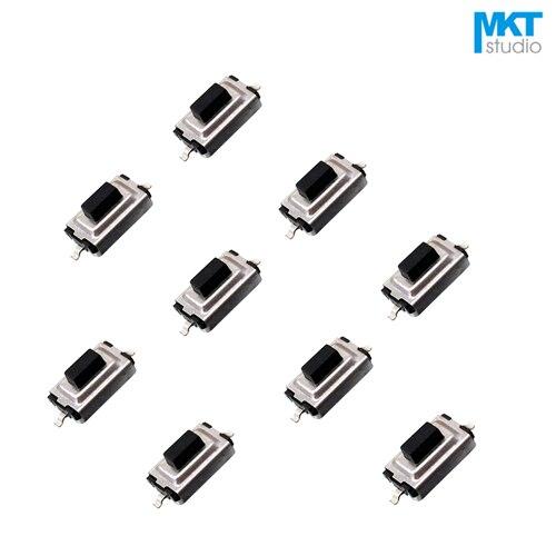 1000 шт 3*6*3 мм черная кнопка SMD микрокнопка тактильный Такт Мгновенный Переключатель