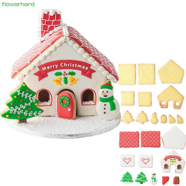 Gingerbread House Cookies House Cookies
