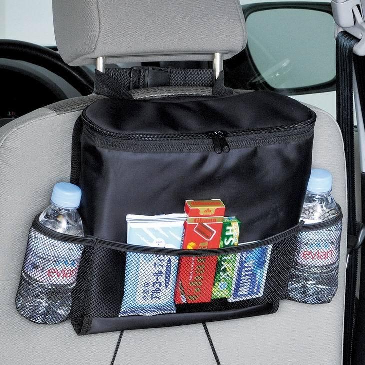 Pour multifonctionnel voiture isolation thermique gant sac gant sac boîte à mouchoirs dos sac noir paragraphe