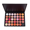 DE'LANCI Makeup 35 Colors Metallic Eyeshadow Palette Glitter Luminous Shimmer Matte Eye Shadow Make Up naked Palette Cosmetics