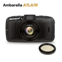 Free Shipping A7810 Car DVR Camera Ambarella A7LA70 With Speedcam FHD 1080p 60Fps Video Recorder Registrar