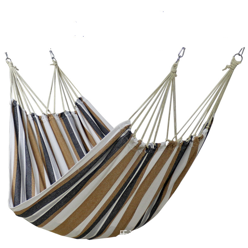 Four Heads Rollover Prevention Hammock Camping Swing Chair Quality Canvas 2*1.5m / 2.2*1.5m Hanging Chair Kids Furniture