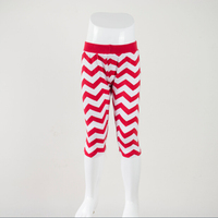 new arrival children high quality clothing kids girls chevron pants toddler spring capris