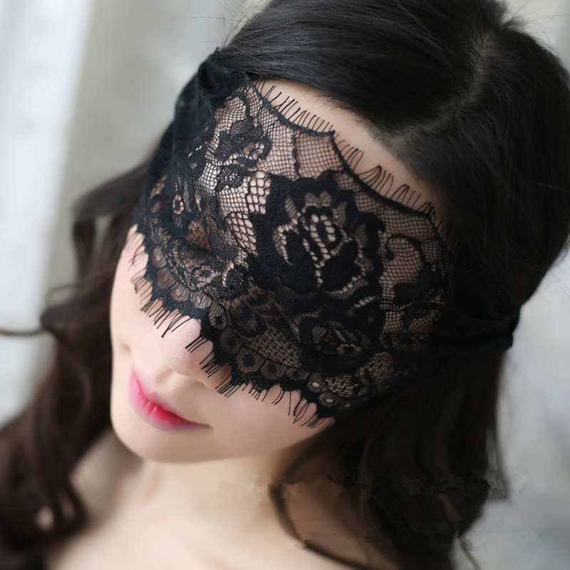 Sexy Black Lace Eye Mask Blindfolded Patch Adult Sex Flirt Products For Couples Women Sex Toys Erotic Accessories Sexy Lingerie