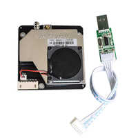 PM Sensor SDS011 Hohe Präzision PM2.5 Air Qualität Erkennung Sensor Modul Super Staub Sensoren Digitaler Ausgang