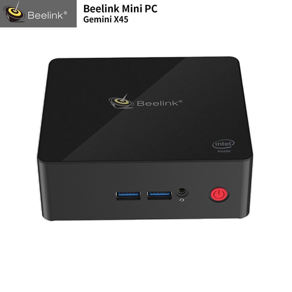 NEW Beelink Gemini X45 Basic Mini PC Intel Gemini Lake Celeron J4105 Intel Graphics 600 64GB/128GB 2.4G/5G WiFi 1000M LAN BT4.0