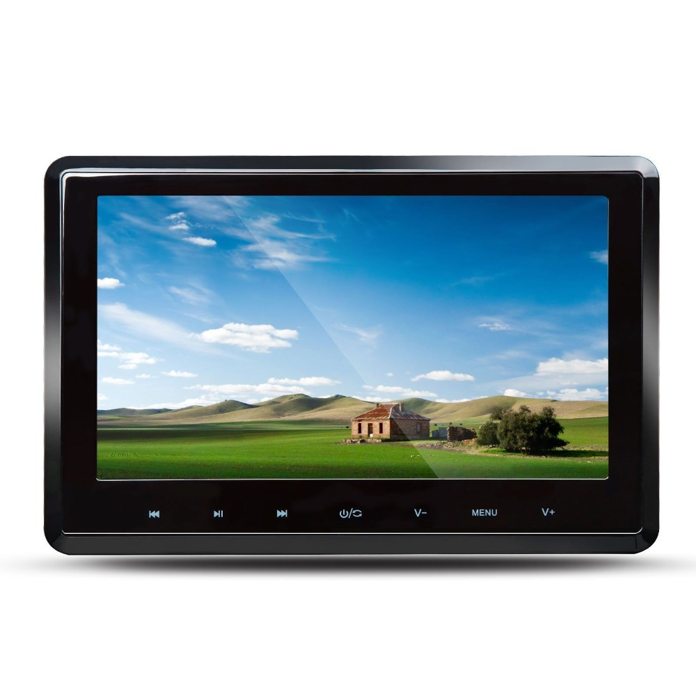 Eonon L0294 Single 10.1 HD Car Pillow Headrest DVD Player Game Touch Button 1024*600 Headrest Monitor