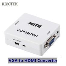 Vga HDMI コンバータスケーラーアダプタボックス PC2TV メスコネクタ USB 電源 PCsHDTV DVD PS23 XBOX 送料無料