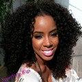 Женщины Средней Длины Фигурные Парики Для Чернокожих Женщин Европейский Синтетический Волнистые Африканских Канекалон Волокна Парик Часть U