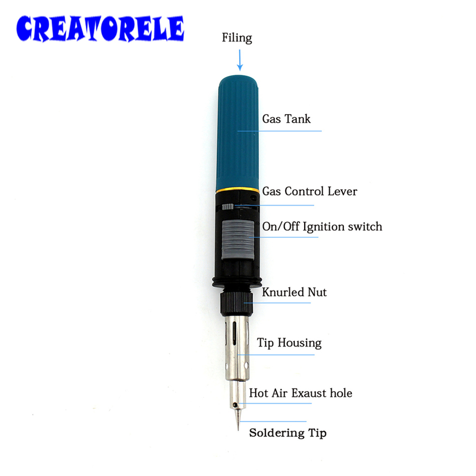 High quality multi-function Cordless Refillable Butane Gas Soldering Iron Pen shape gas Touch Soldering gas gun Tool HT-C01 gs 210 pen shape gas soldering iron cordless torch soldering iron