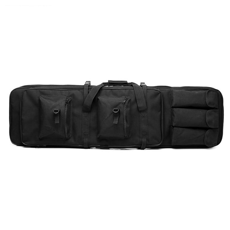 Sac de pêche multifonctionnel sac de pistolet tactique de chasse en plein air sac de transport carré sac de Protection pour pistolet sac à dos de Camping - 6