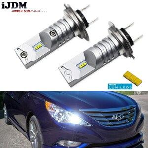 Image 1 - Ijdm 6000 18k luxen搭載led H7 led電球velosterのアクセントハイビーム昼間ランニングライト