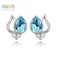 Free Shipping Wholesale Price Crystal Earrings Crystal Jewelry Evening Dress Wedding Dress 88978
