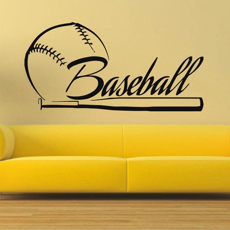 Fototapeta Baseball Samolepky na auto Sport plakáty Domácí dekorace Vinylové samolepky Dekorace Nástěnná Nálepka Baseball