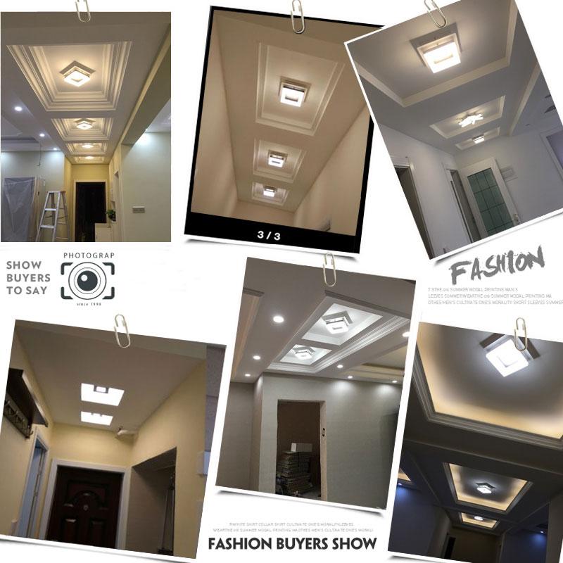 LED proste oświetlenie alejek światła korytarz domu drzwi - Oświetlenie wewnętrzne - Zdjęcie 6